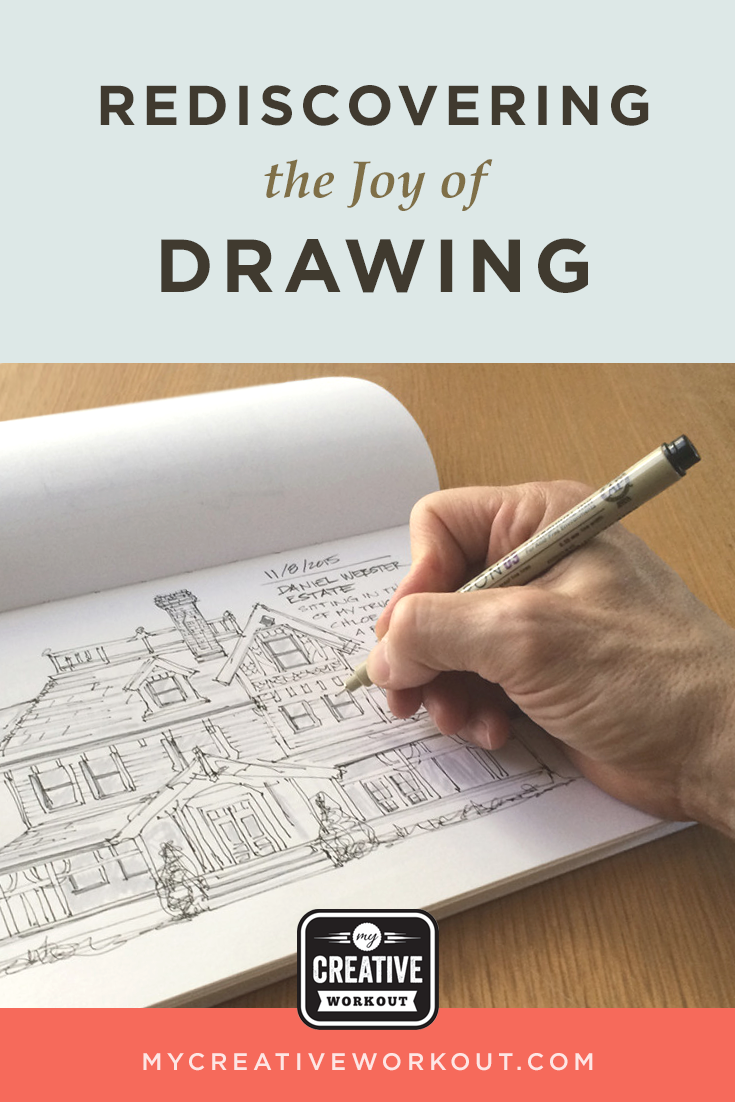 Rediscovering the Joy of Drawing