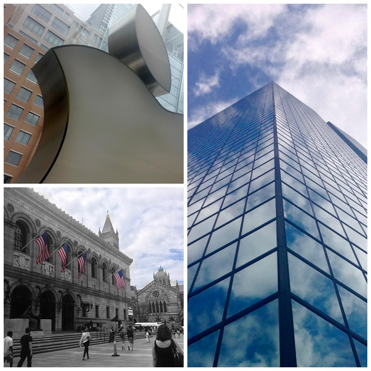 Boston Photo Walk Collage