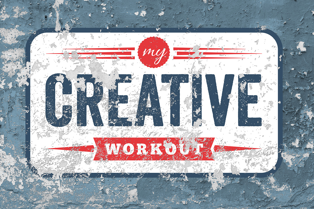 My Creative Workout Logo Mock Up