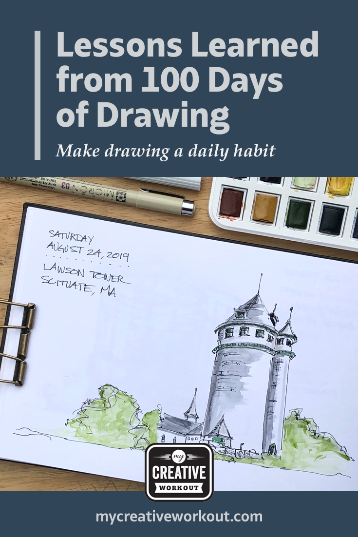 Lessons Learned from 100 Days of Drawing