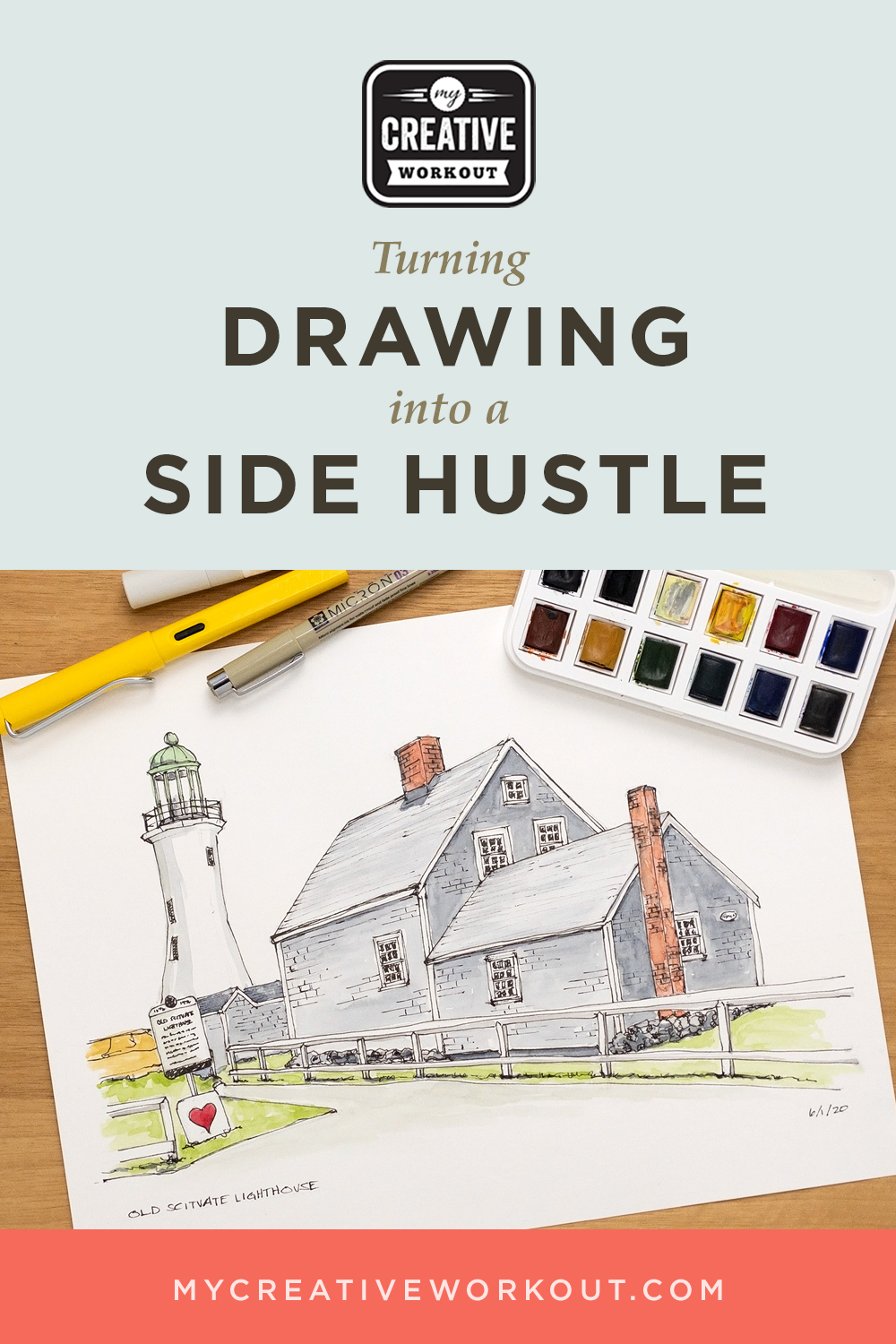 Turning Drawing into a Side Hustle